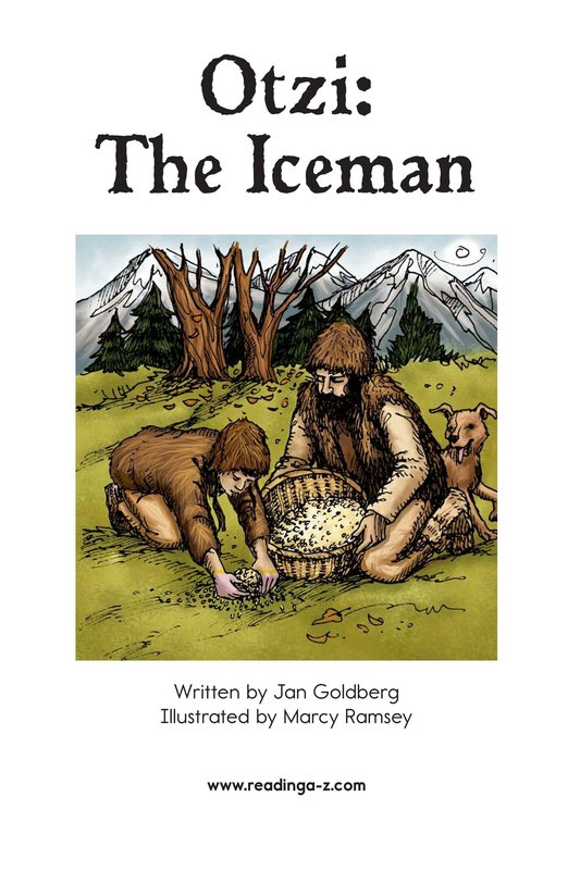 Book Preview For Otzi: The Iceman Page 2