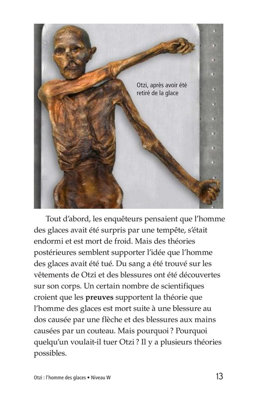Book Preview For Otzi: The Iceman Page 13
