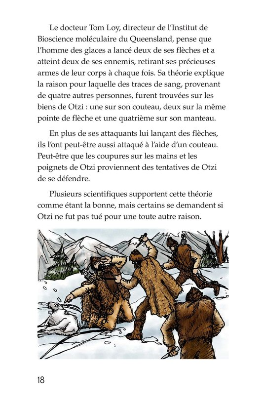 Book Preview For Otzi: The Iceman Page 18