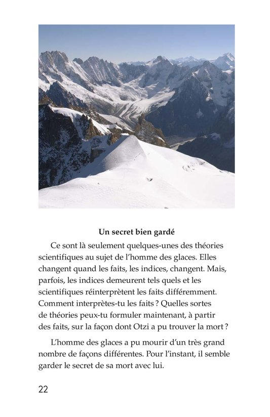 Book Preview For Otzi: The Iceman Page 22