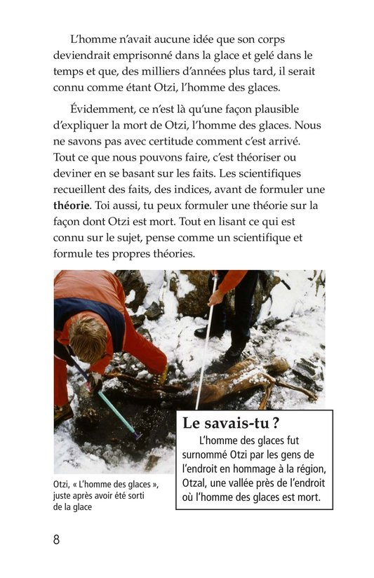 Book Preview For Otzi: The Iceman Page 8