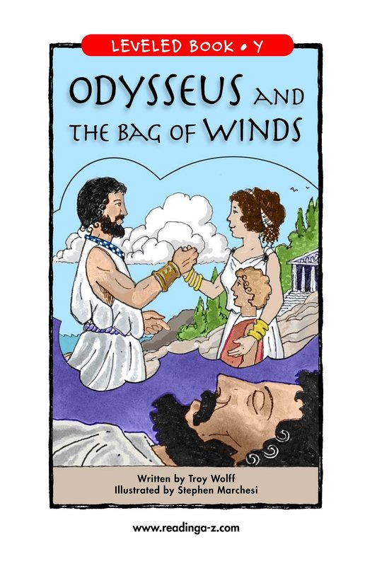Book Preview For Odysseus and the Bag of Winds Page 1