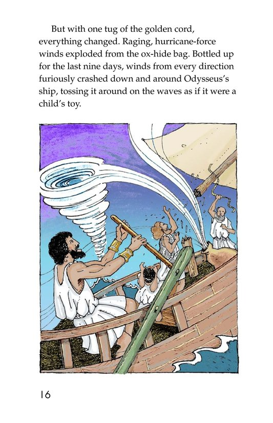 Book Preview For Odysseus and the Bag of Winds Page 16