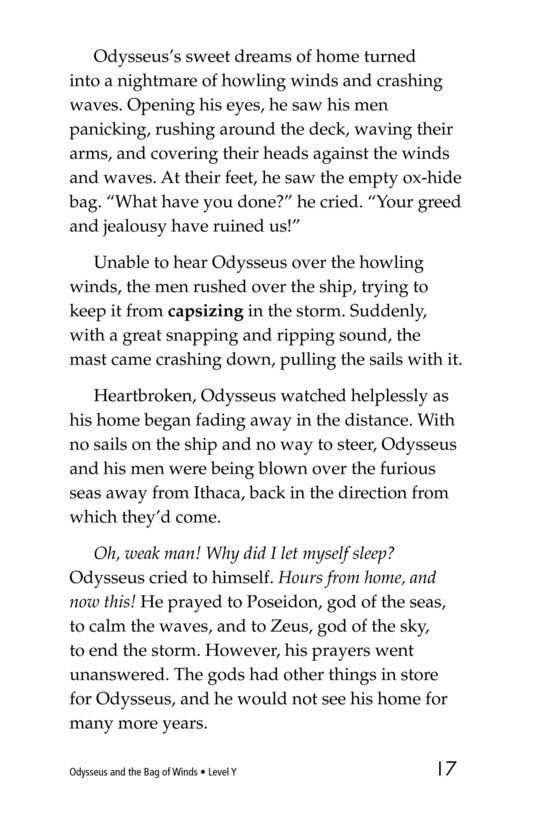 Book Preview For Odysseus and the Bag of Winds Page 17