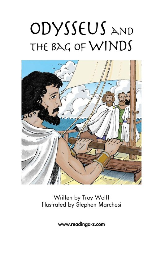 Book Preview For Odysseus and the Bag of Winds Page 2