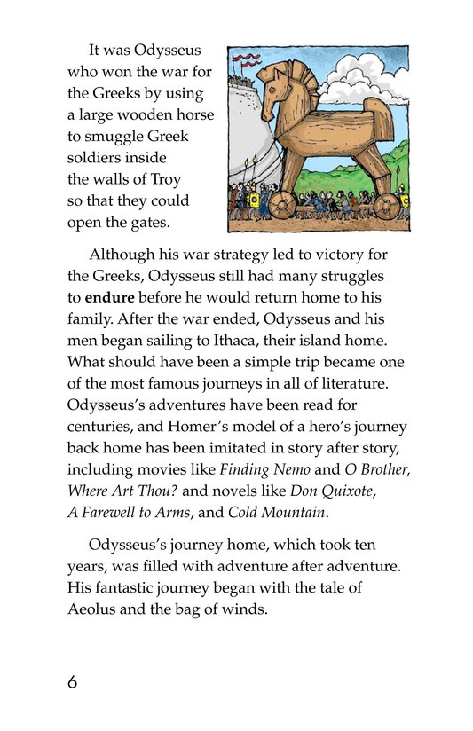 Book Preview For Odysseus and the Bag of Winds Page 6