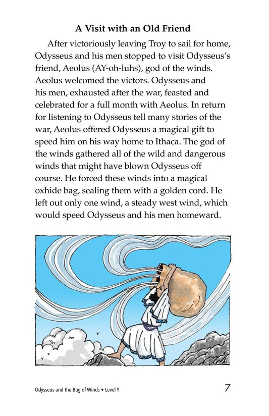 Book Preview For Odysseus and the Bag of Winds Page 7