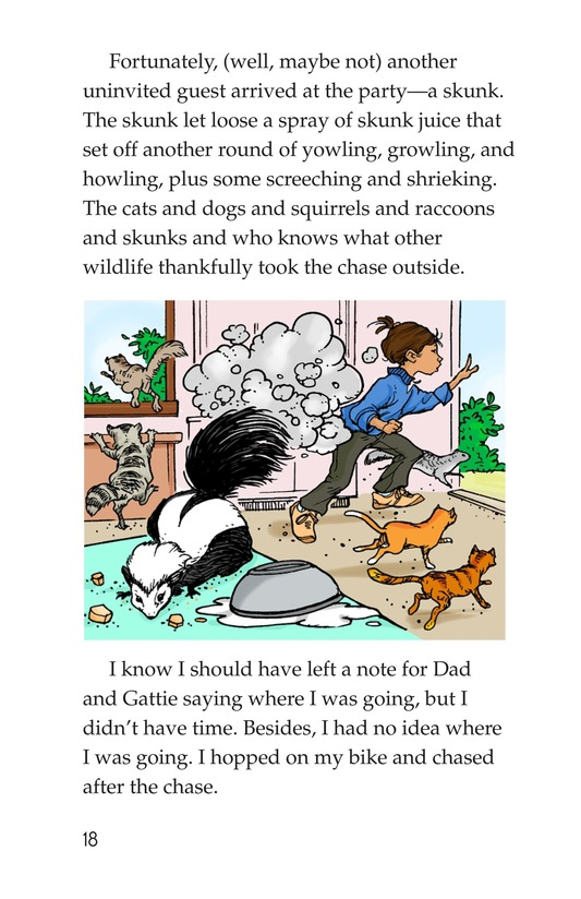 Book Preview For Book 4: Raining Cats, Dogs, and Other Animals Page 18