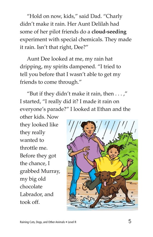 Book Preview For Book 4: Raining Cats, Dogs, and Other Animals Page 5