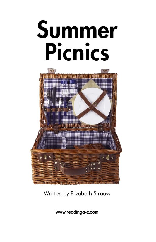 Book Preview For Summer Picnics Page 2
