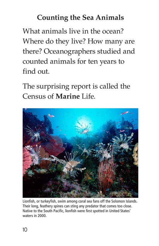 Book Preview For Deep in the Ocean Page 10