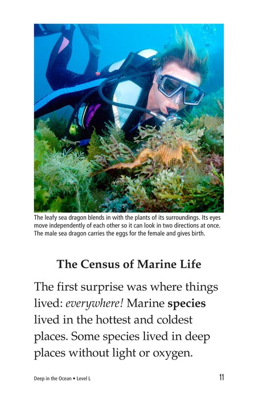 Book Preview For Deep in the Ocean Page 11