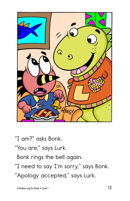 Book Preview For A Broken Leg for Bonk Page 13