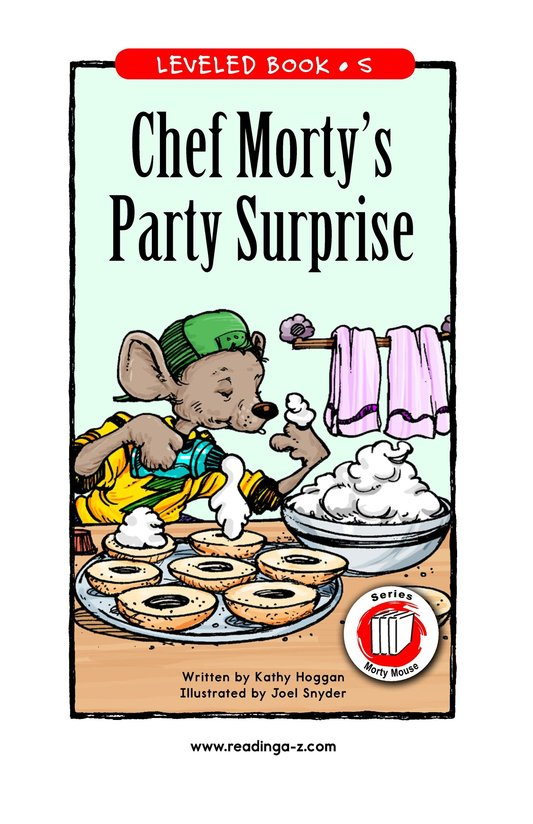 Book Preview For Chef Morty's Party Surprise Page 1