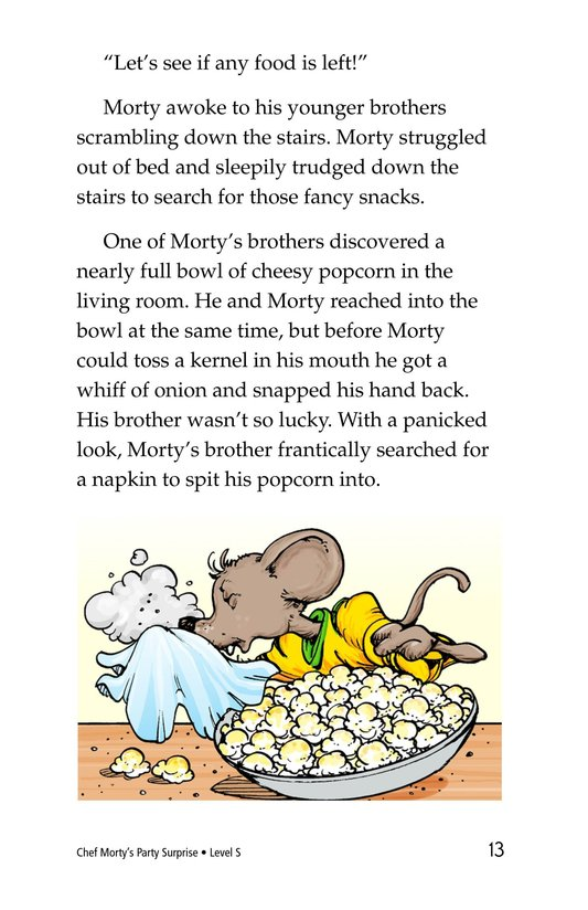 Book Preview For Chef Morty's Party Surprise Page 13