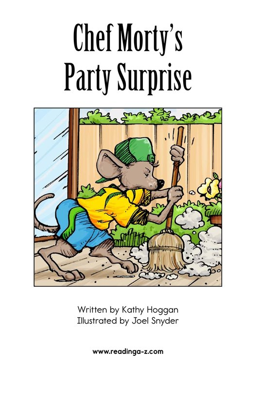 Book Preview For Chef Morty's Party Surprise Page 2