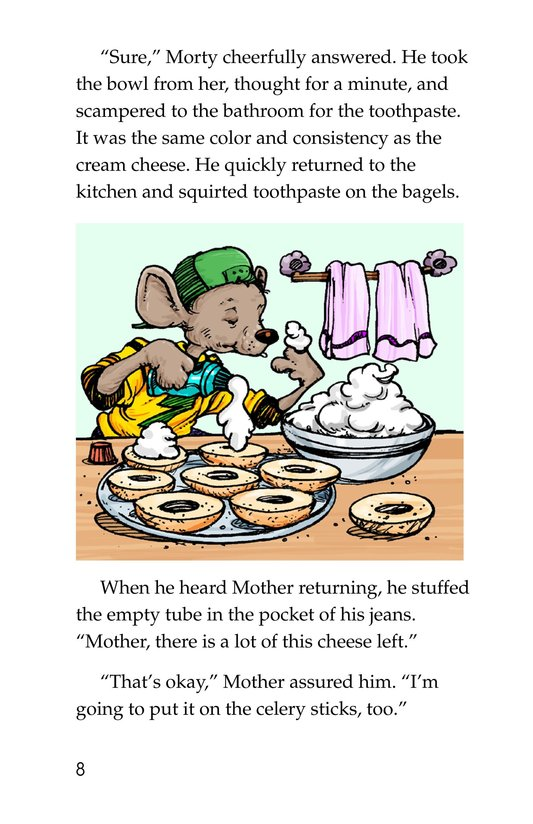 Book Preview For Chef Morty's Party Surprise Page 8