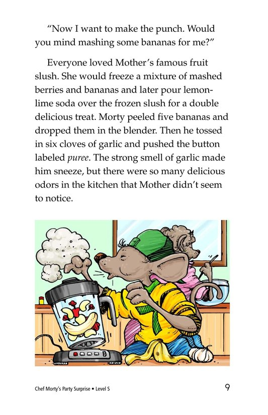 Book Preview For Chef Morty's Party Surprise Page 9