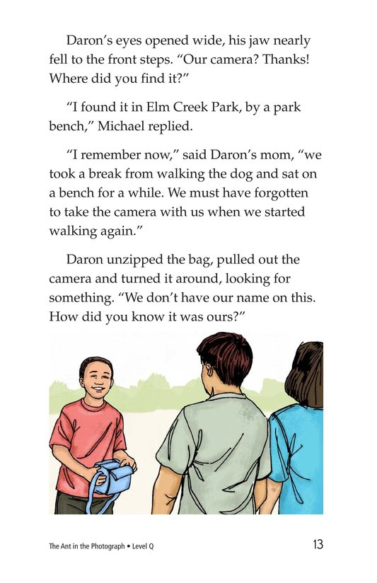 Book Preview For The Ant in the Photograph Page 13