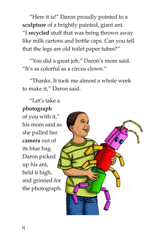Book Preview For The Ant in the Photograph Page 4