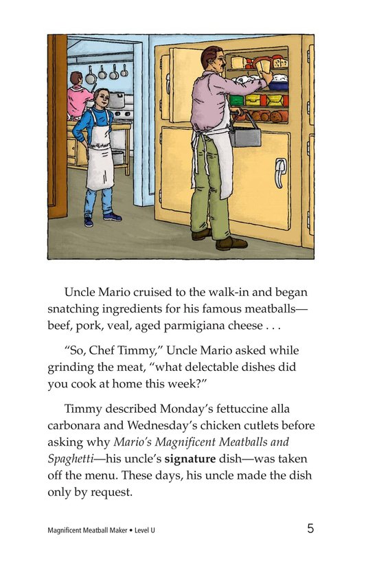 Book Preview For Magnificent Meatball Maker Page 5