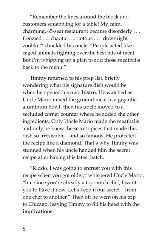 Book Preview For Magnificent Meatball Maker Page 6