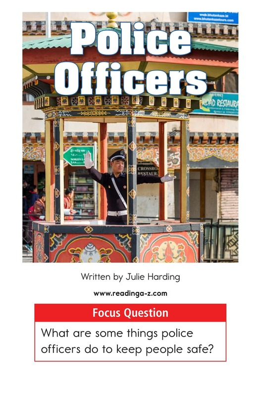 Book Preview For Police Officers Page 1