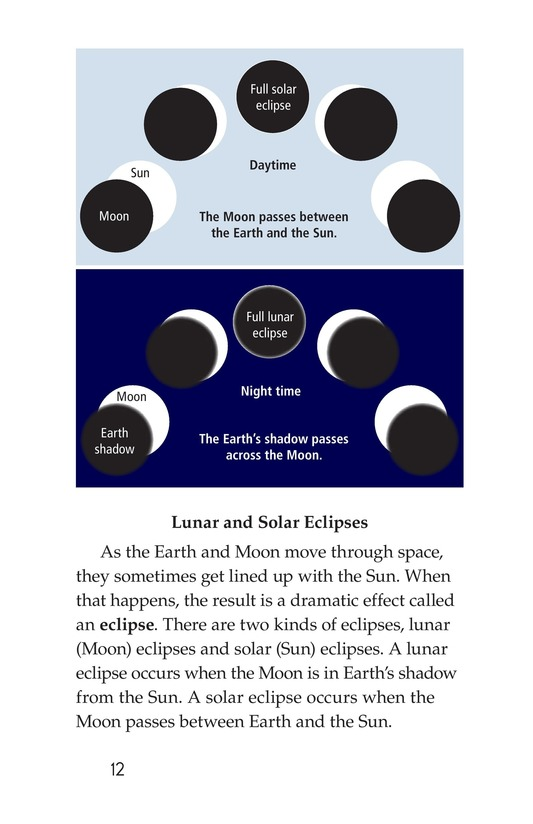 Book Preview For The Sun, Earth, and Moon Page 12