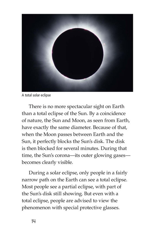 Book Preview For The Sun, Earth, and Moon Page 14