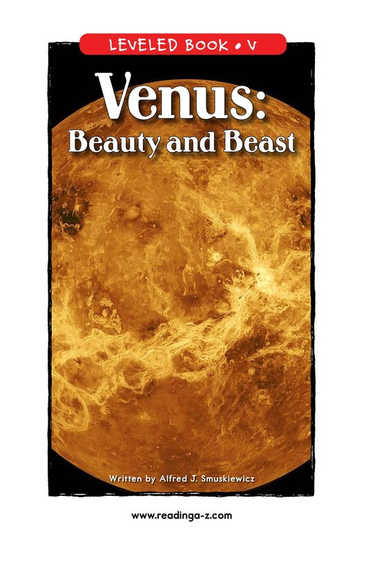 Book Preview For Venus: Beauty and Beast Page 0