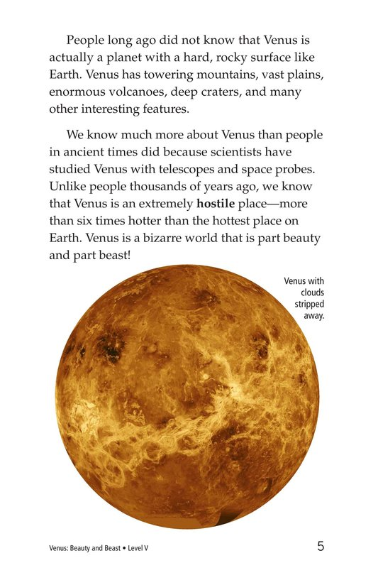 Book Preview For Venus: Beauty and Beast Page 5