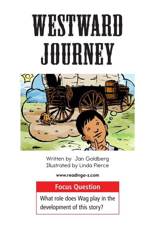 Book Preview For Westward Journey Page 1