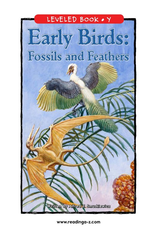 Book Preview For Early Birds: Fossils and Feathers Page 0