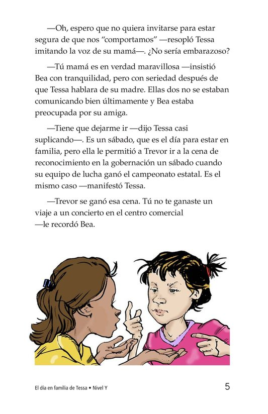 Book Preview For Tessa's Family Day Page 5