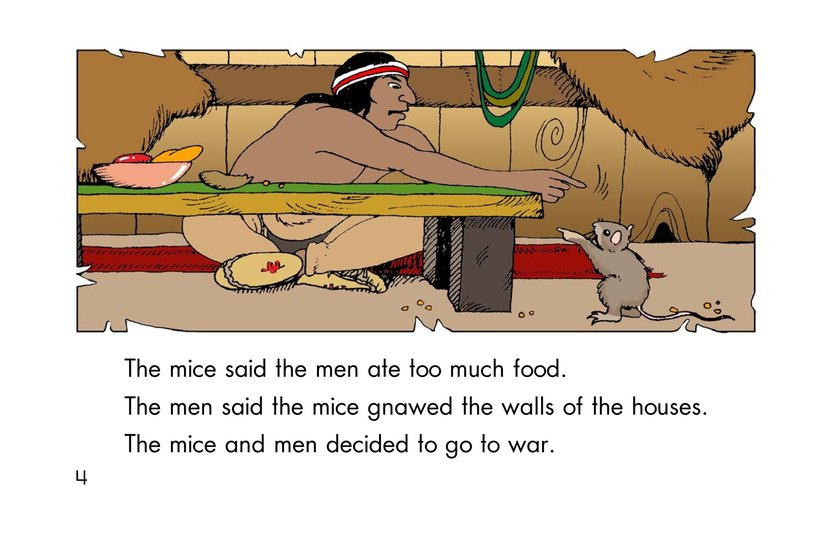 Book Preview For How the Mice Beat the Men Page 4
