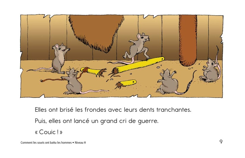 Book Preview For How the Mice Beat the Men Page 9