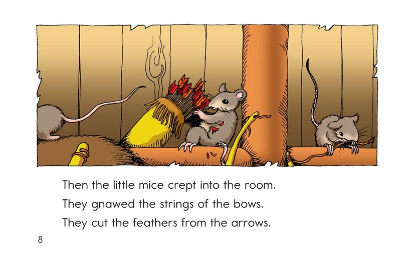 Book Preview For How the Mice Beat the Men Page 8