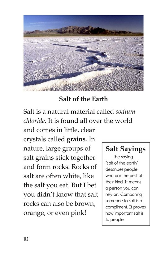 Book Preview For Salt Rocks! Page 10