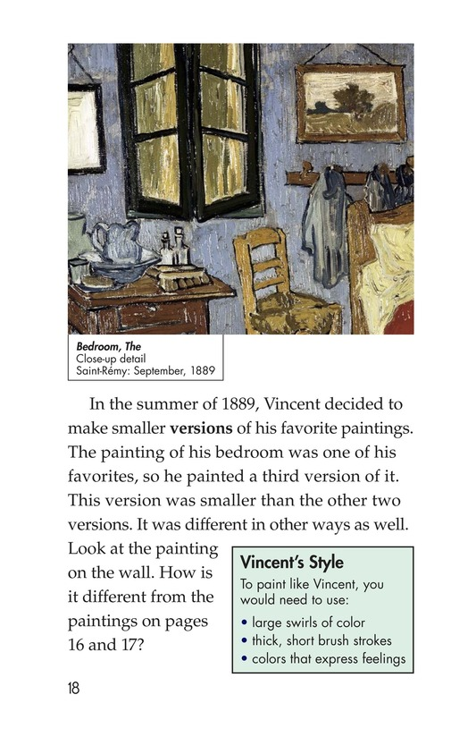 Book Preview For Vincent's Bedroom Page 18