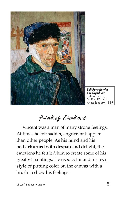 Book Preview For Vincent's Bedroom Page 5