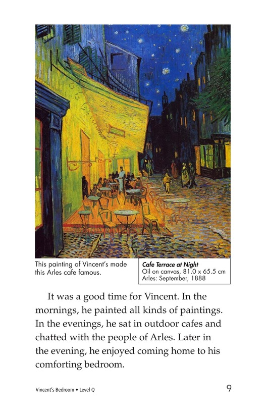 Book Preview For Vincent's Bedroom Page 9