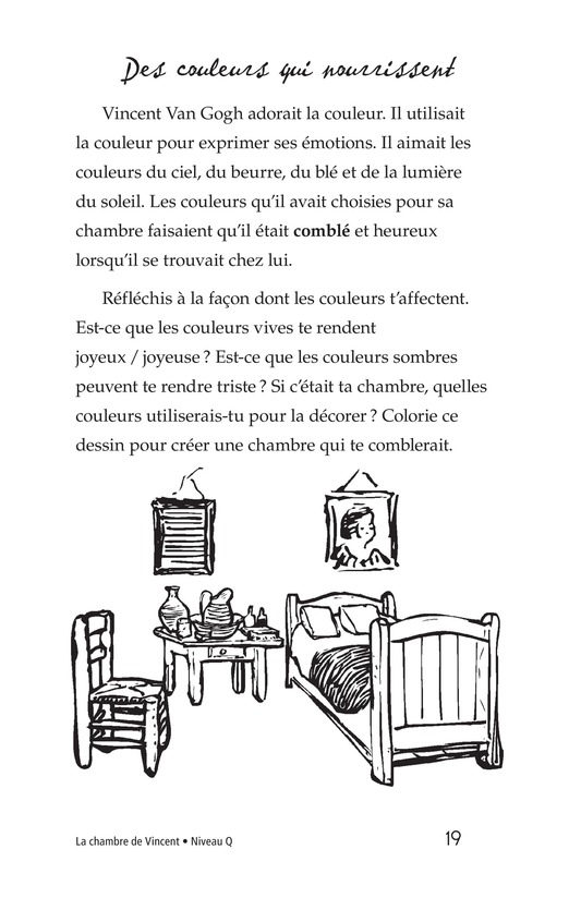 Book Preview For Vincent's Bedroom Page 19
