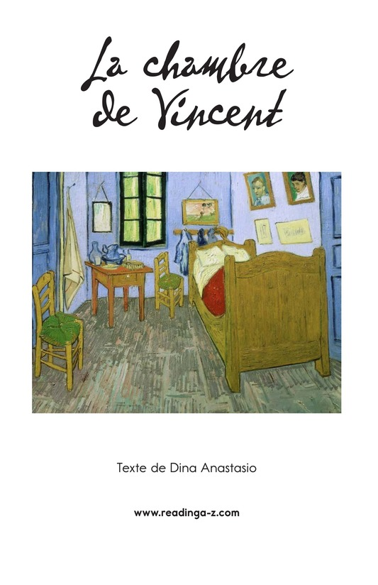 Book Preview For Vincent's Bedroom Page 2