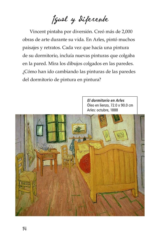 Book Preview For Vincent's Bedroom Page 14