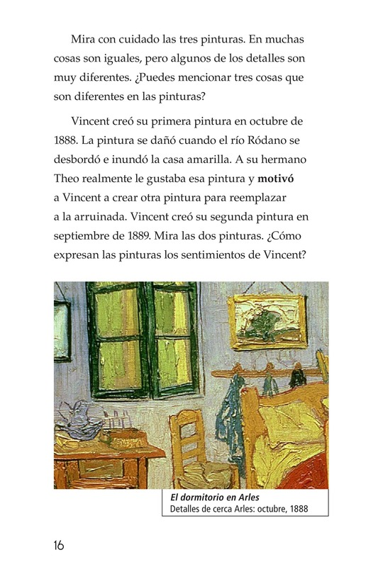 Book Preview For Vincent's Bedroom Page 16