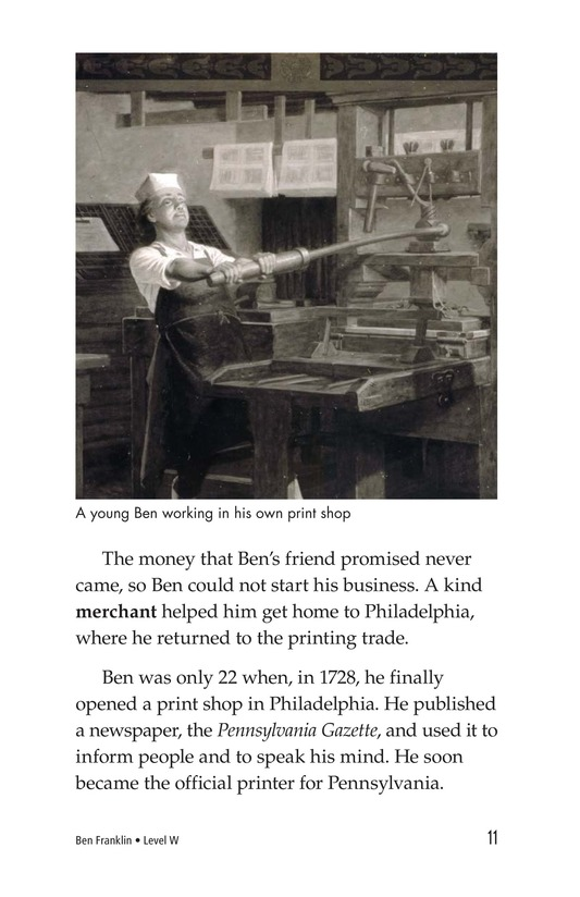 Book Preview For Ben Franklin Page 11