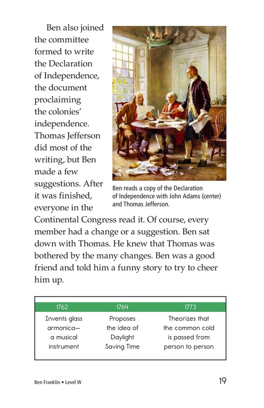 Book Preview For Ben Franklin Page 19