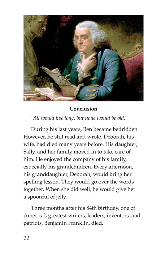 Book Preview For Ben Franklin Page 22