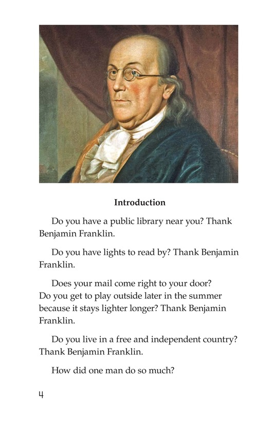 Book Preview For Ben Franklin Page 4