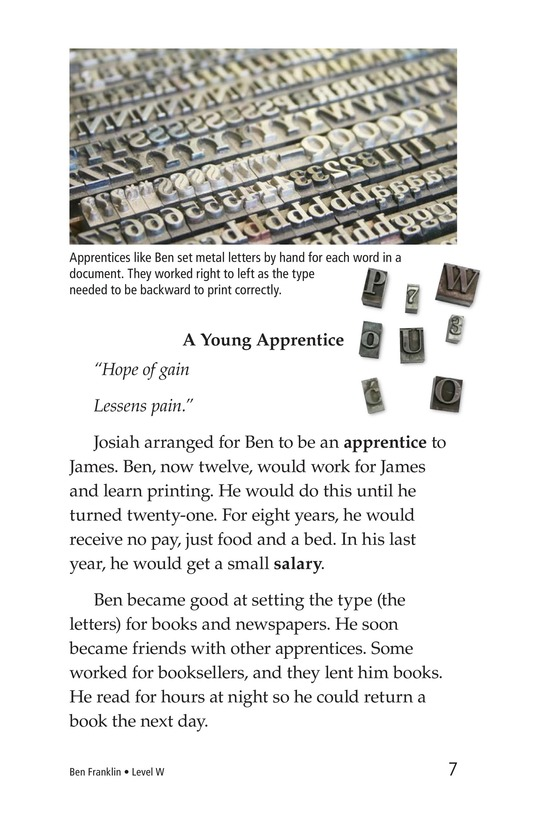 Book Preview For Ben Franklin Page 7